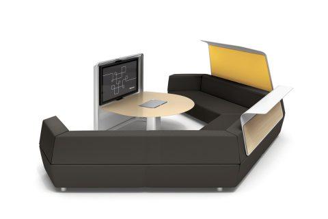 Integruotos technologijos Media scape Lounge