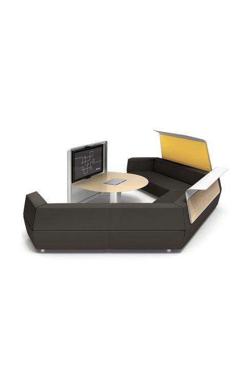 Priimamojo poilsio baldai Media scape lounge